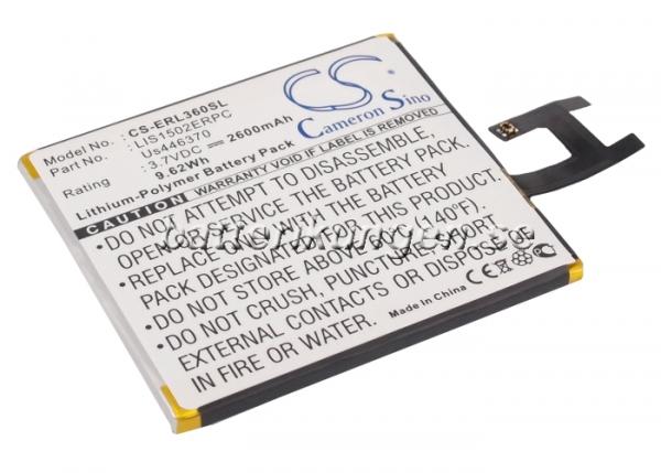Batteri til Sony Xperia Z mfl - 2.600 mAh