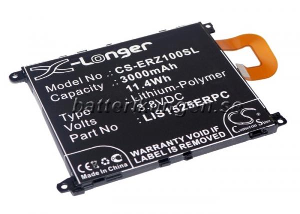 Batteri til Sony Xperia Z1 mfl - 3.000 mAh