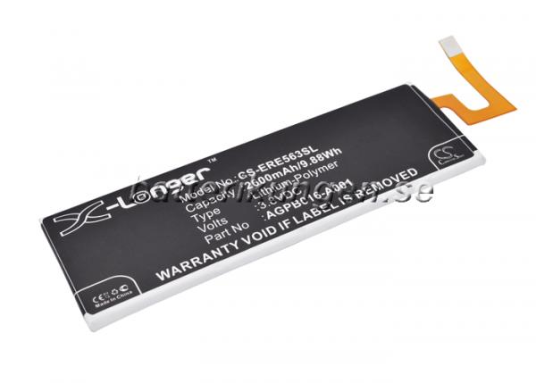 Batteri til Sony Xperia M5 mfl - 2.600 mAh