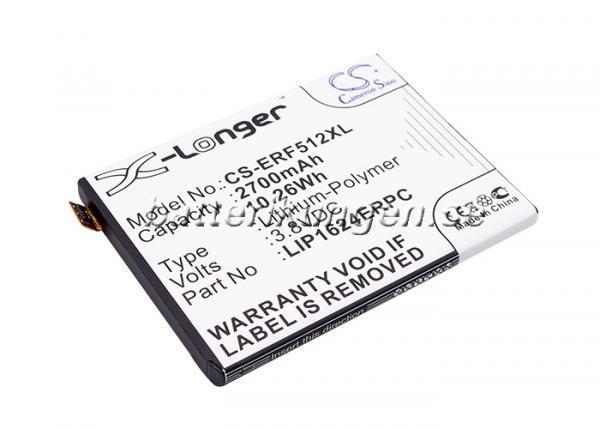 Batteri til Sony Xperia X mfl - 2.700 mAh