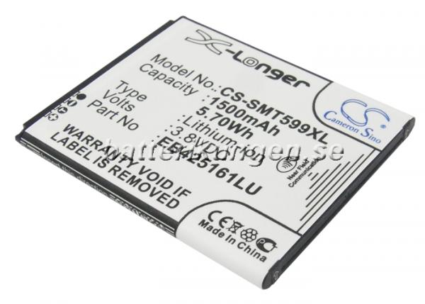 Batteri til Galaxy Trend II 1.500 mAh mfl