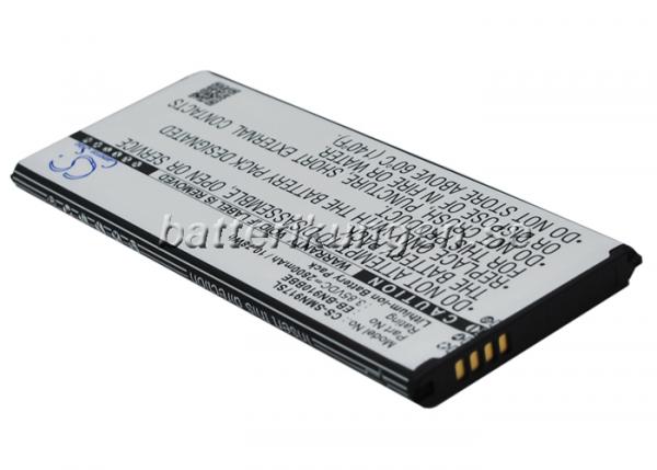 Batteri til Samsung Galaxy Note 4 mfl - 2.550 mAh