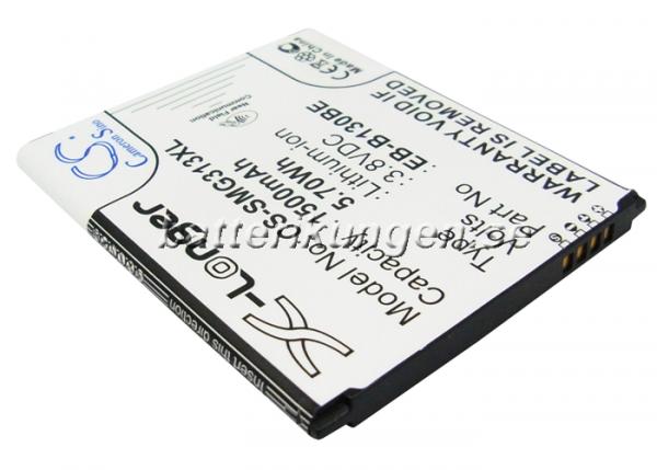 Batteri til Samsung SM-G310 mfl - 1.500 mAh - NFC stöd