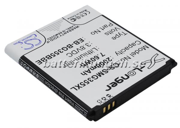 Batteri til Samsung SM-G355 mfl - 2.000 mAh