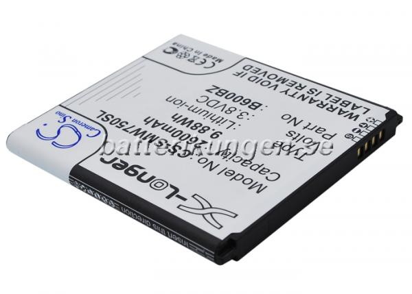 Batteri til Samsung SM-W750 mfl - 2.600 mAh