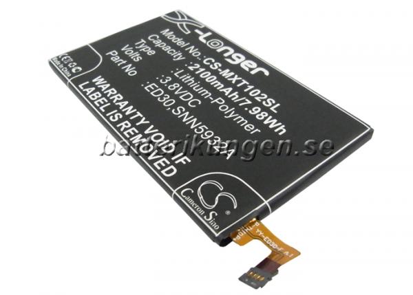 Batteri til Motorola Moto G - 2.100 mAh