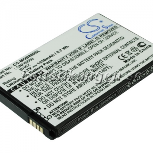 Batteri til Motorola A954 mfl - 1.550 mAh