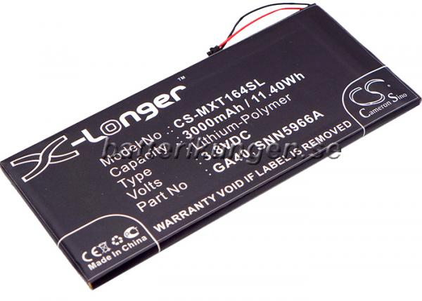Batteri til Motorola Moto G4 Plus mfl - 2.700 mAh