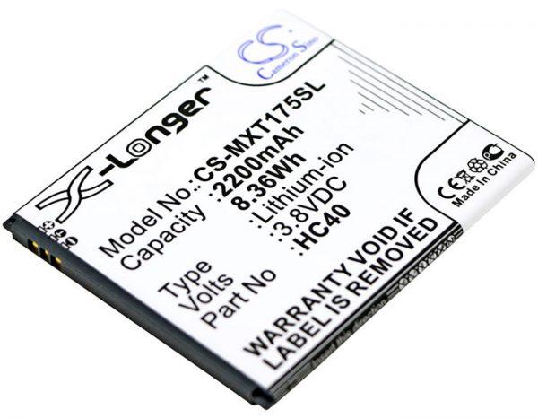 Batteri til Motorola Moto C mfl - 2.200 mAh