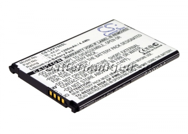 Batteri til LG Optimus L7 - 1.200 mAh