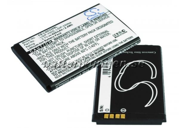 Batteri til LG GD330 mfl