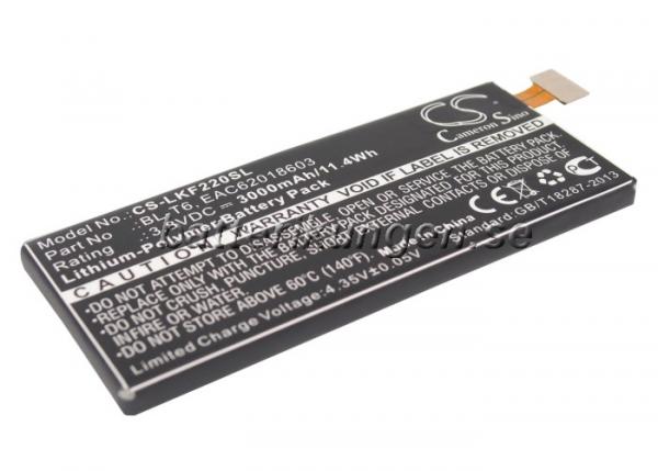 Batteri til LG Optimus GK mfl