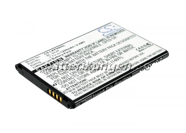 Batteri til LG P940 mfl - 1.200 mAh