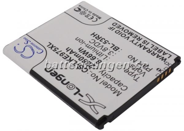 Batteri til LG Optimus GJ mfl - 2.280 mAh
