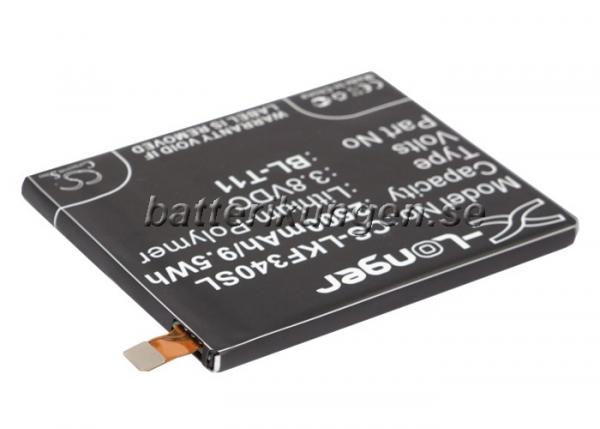 Batteri til LG G Flex mfl - 2.500 mAh