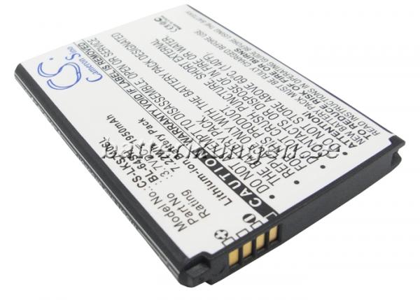 Batteri til LG LS740 mfl - 1.950 mAh