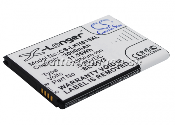 Batteri til LG G4 mfl - 3.000 mAh