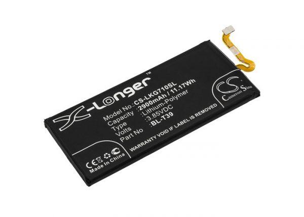 Batteri til LG G7 Plus ThinQ mfl - 2.900 mAh