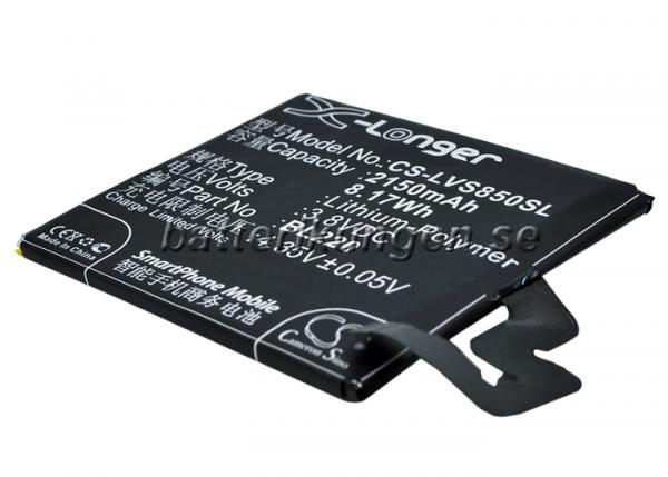 Batteri til Lenovo S850 mfl - 2.150 mAh