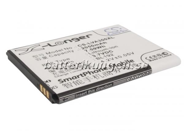 Batteri til Lenovo A300 mfl - 2.050 mAh