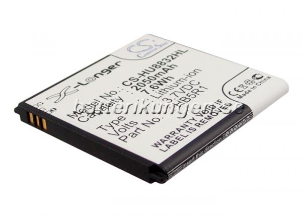 Batteri til Huawei U8832D mfl - 2.050 mAh