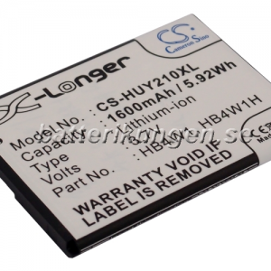 Batteri til Huawei Ascend Y210 mfl - 1.600 mAh