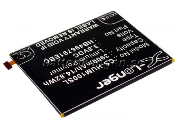 Batteri til Huawei Ascend Mate mfl - 3.900 mAh