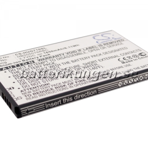 Batteri til Huawei A199 mfl - 1.650 mAh
