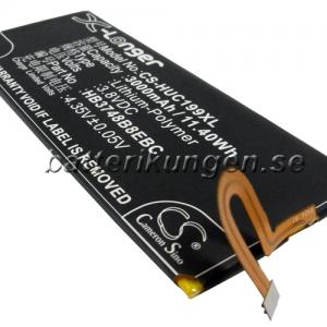 Batteri til Huawei Ascend G7 mfl - 3.000 mAh