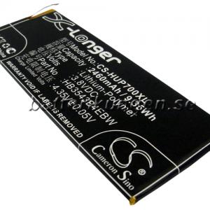 Batteri til Huawei Ascend P7 mfl - 2.460 mAh