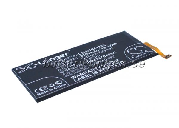 Batteri til Huawei Honor 6 Plus mfl - 3.500 mAh