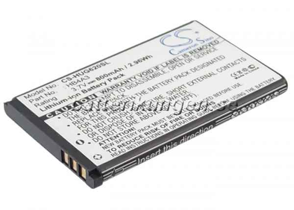 Batteri til Huawei G6620 mfl - 800 mAh