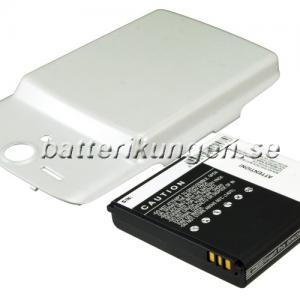 Batteri til Huawei Ascend U8815 mfl - 3.600 mAh - Vitt