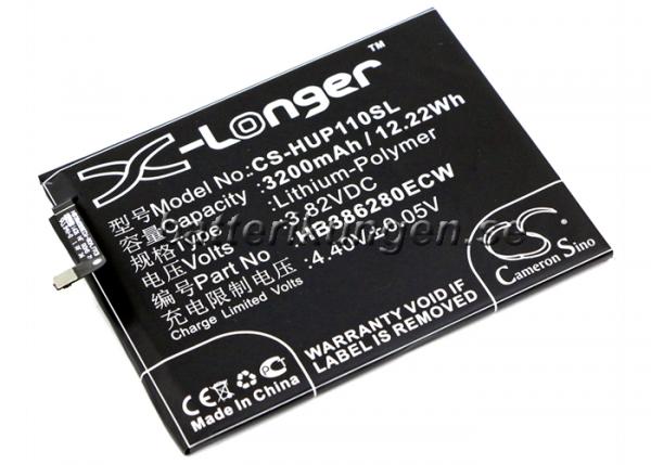 Batteri til Huawei P10 mfl - 3.200 mAh