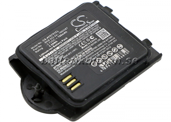 Batteri til Ericsson DT412 V2 mfl - 700 mAh