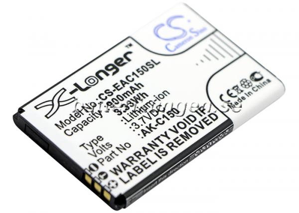 Batteri til Emporia Telme C150 mfl - 900 mAh