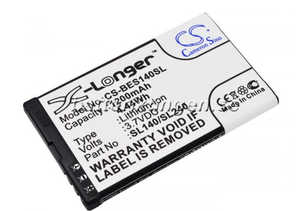 Batteri til Bea-fon SL140 mfl - 1.200 mAh