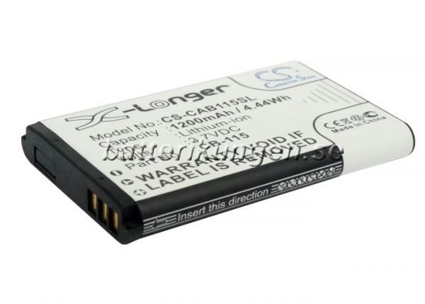 Batteri til CAT B100 - 1.200 mAh