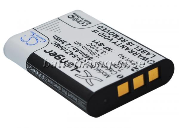 Batteri til Sony som ersätter NP-BY1