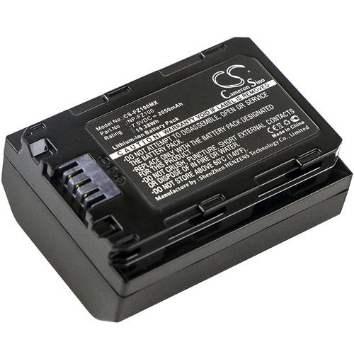 Batteri til Sony som ersätter NP-FZ100 mfl