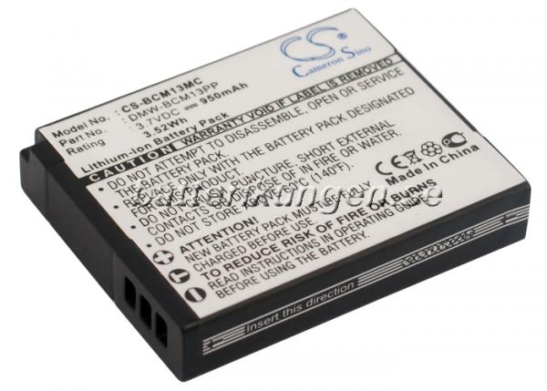 Batteri til Panasonic som ersätter DMW-BCM13 mfl