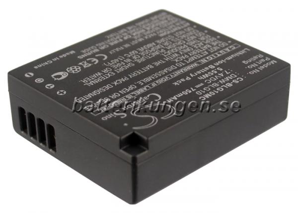 Batteri til Panasonic som ersätter DMW-BLG10 mfl