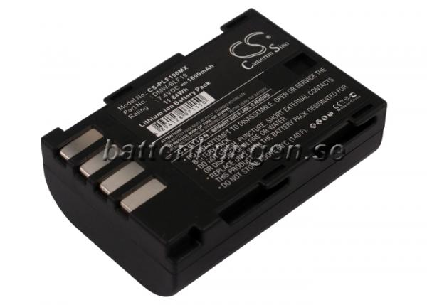 Batteri til Panasonic som ersätter DMW-BLF19 mfl