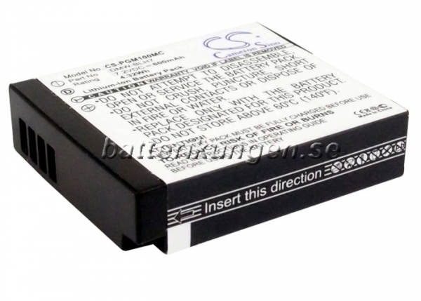Batteri til Panasonic som ersätter DMW-BLH7 mfl
