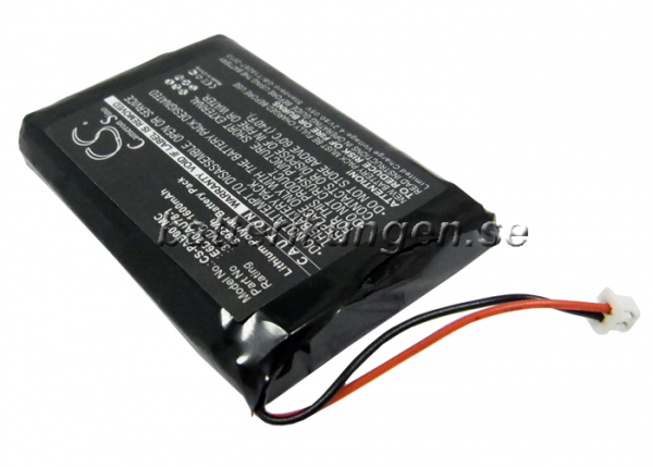 Batteri til Panasonic Arbitator Body Worn Mics - 1.600 mAh