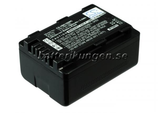 Batteri til Panasonic som ersätter VW-VBK180 mfl - 1.500 mAh