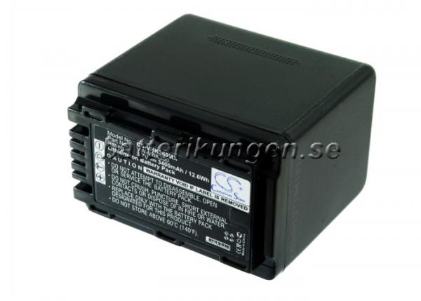 Batteri til Panasonic som ersätter VW-VBK360 - 3.400 mAh