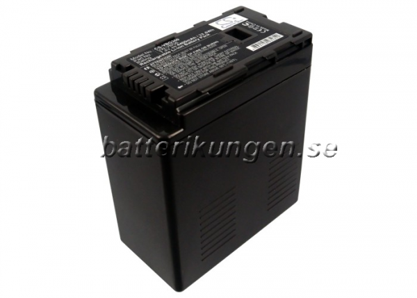 Batteri til Panasonic som ersätter VW-VBG6 - 4.400 mAh
