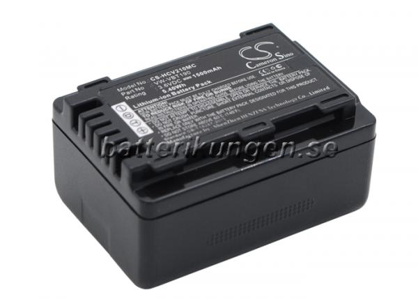 Batteri til Panasonic som ersätter VW-VBT190 - 1.500 mAh