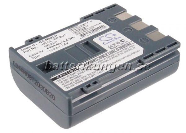 Batteri til Canon - NB-2L - 700 mAh